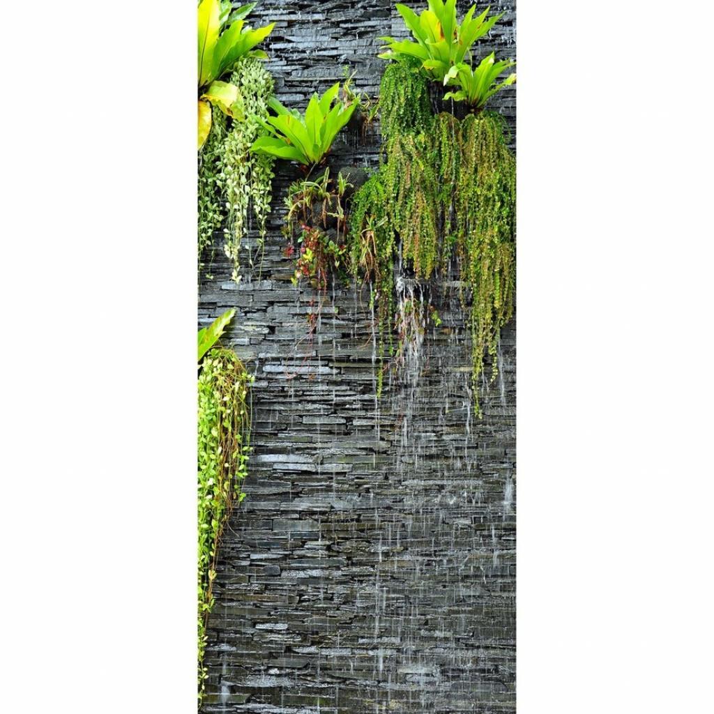 Produktové foto Vertikální fototapeta Green in the wall, 90 x 202 cm