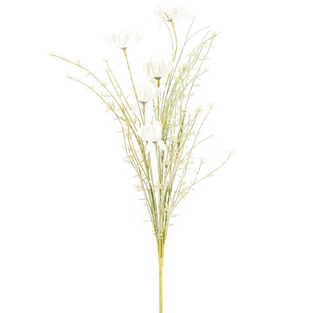 Produktové foto Umělé luční květy 50 cm, bílá