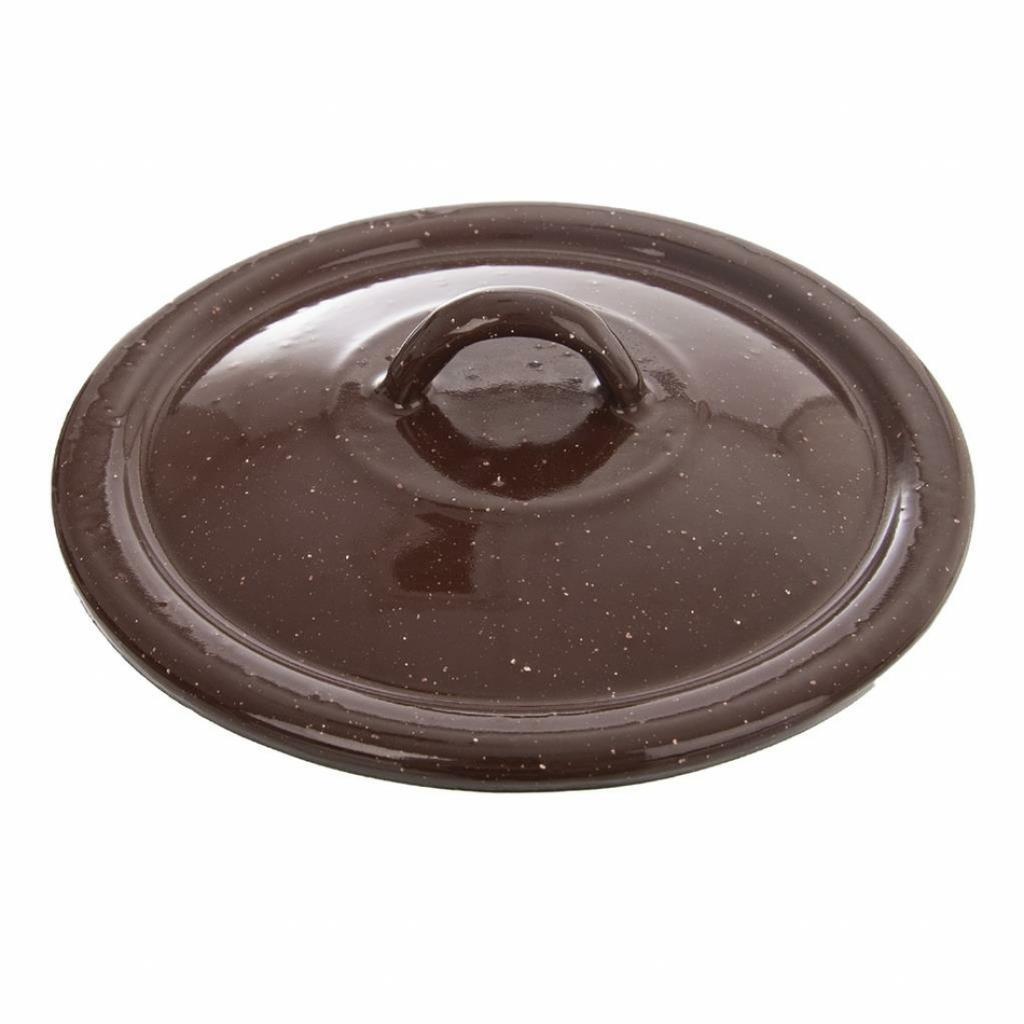 Produktové foto Orion Smaltovaná poklice Brown, 16 cm, pr. 16 cm