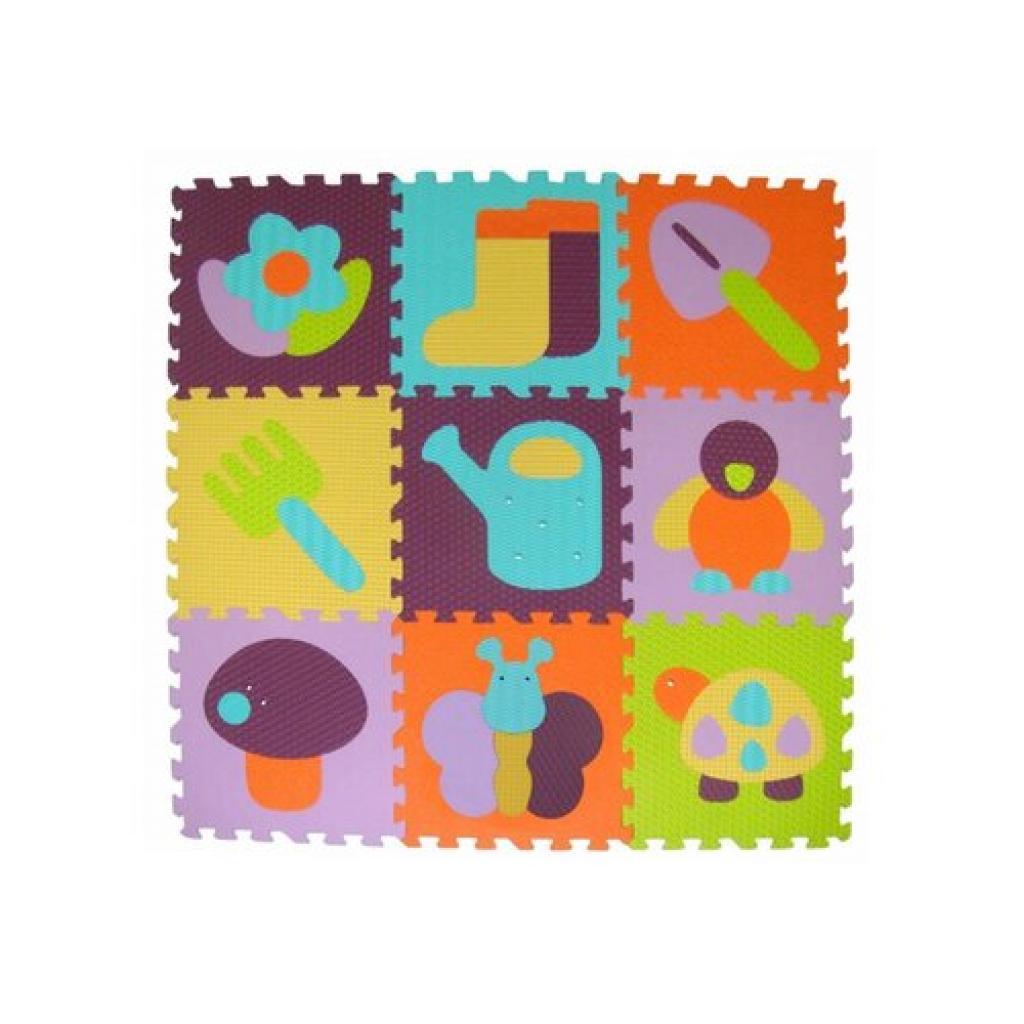 Produktové foto Baby Great Pěnové puzzle Barevná zahrádka SX (30x30)