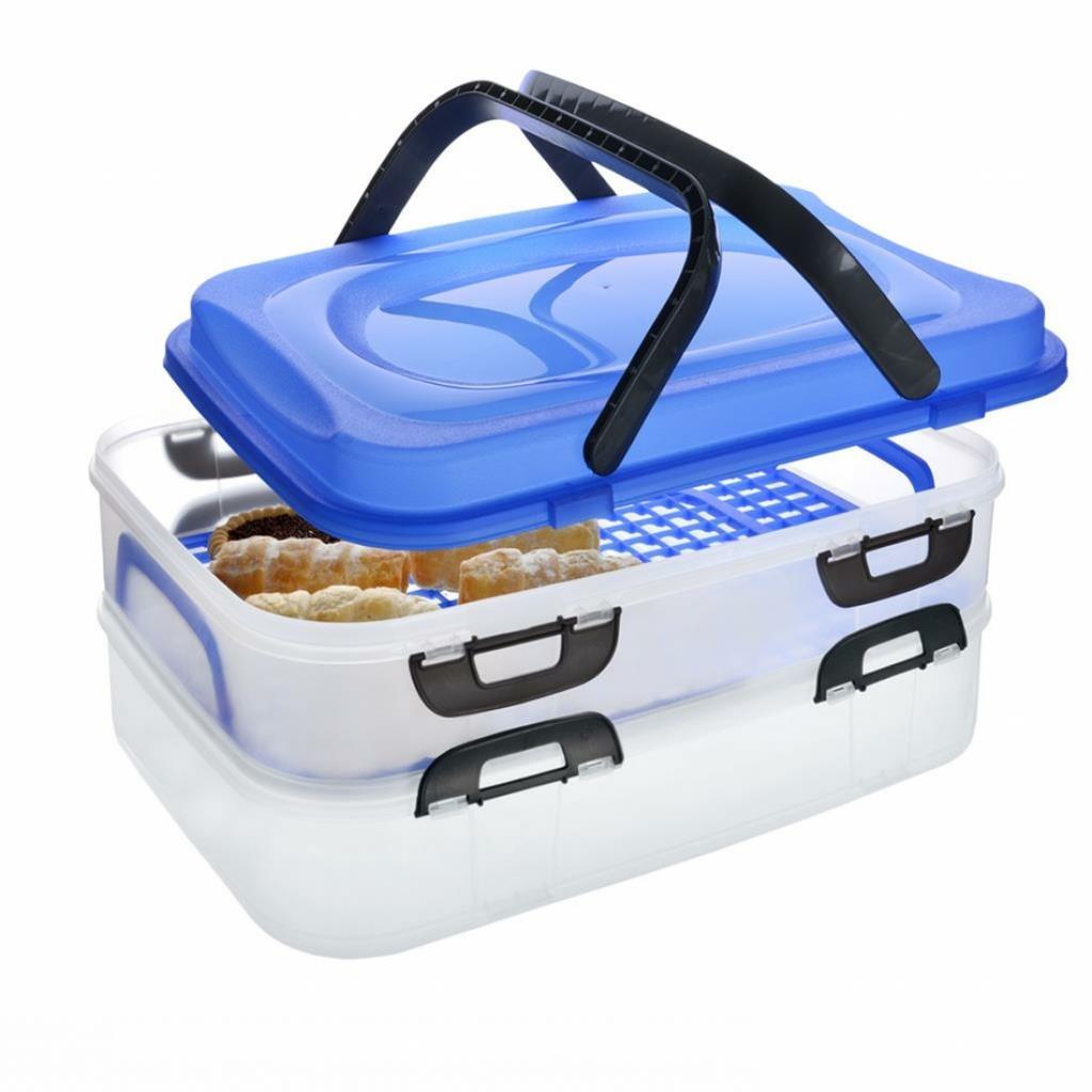 Produktové foto Orion Přenosný box na potraviny 2 patra