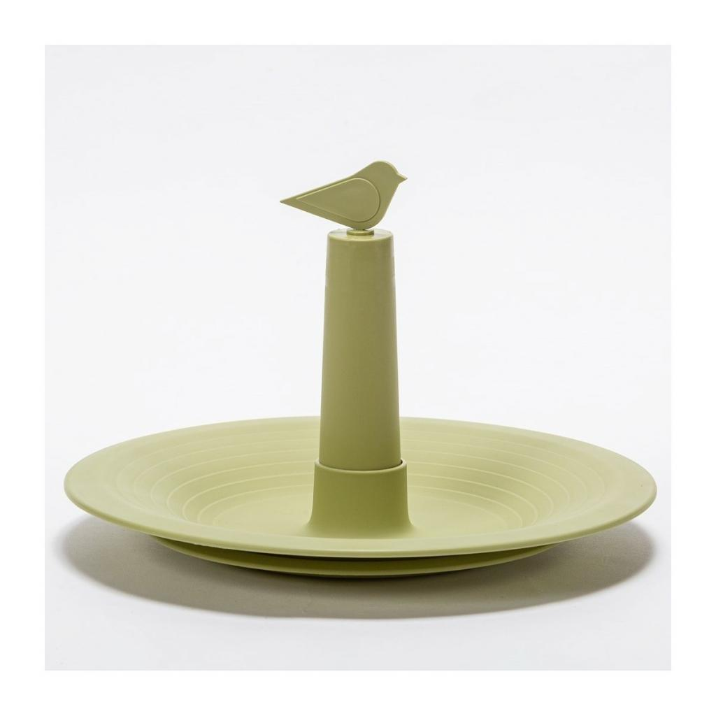 Produktové foto Plastia Pítko pro ptáky Finch, olivová
