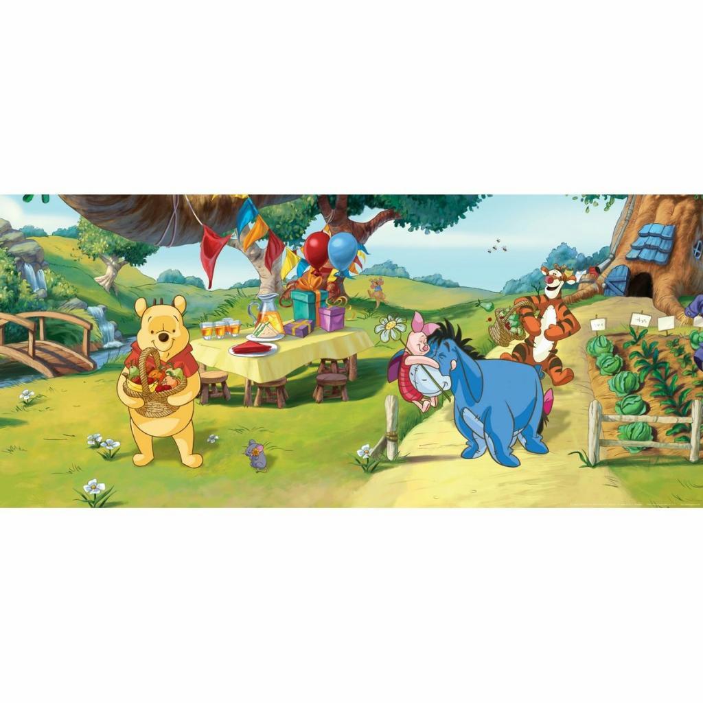 Produktové foto Dětská fototapeta Medvídek Pú a přátelé, 202 x 90 cm