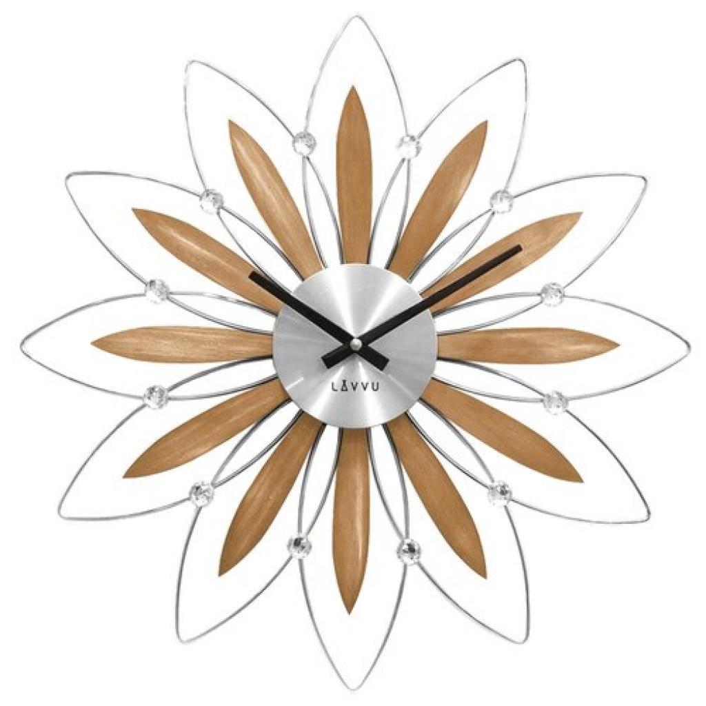 Produktové foto LAVVU CRYSTAL Flower LCT1112 Nástěnné hodiny