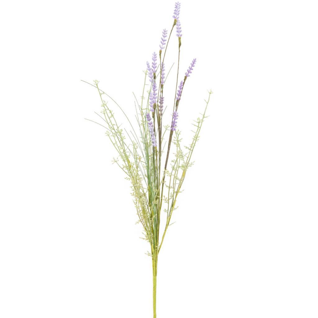 Produktové foto Umělé luční květy levandule 56 cm, fialová