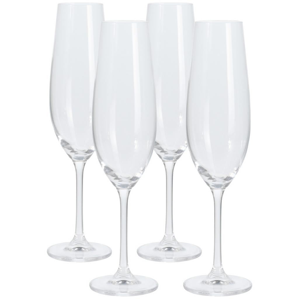 Produktové foto 4dílná sada sklenic na šampaňské, 260 ml