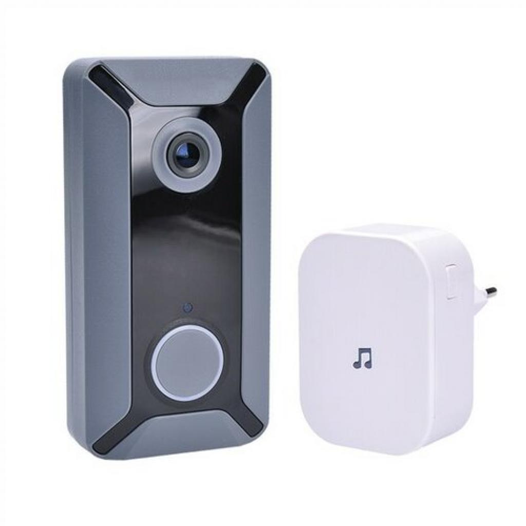 Produktové foto Solight 1L200 Wi-Fi bezdrátový zvonek s kamerou