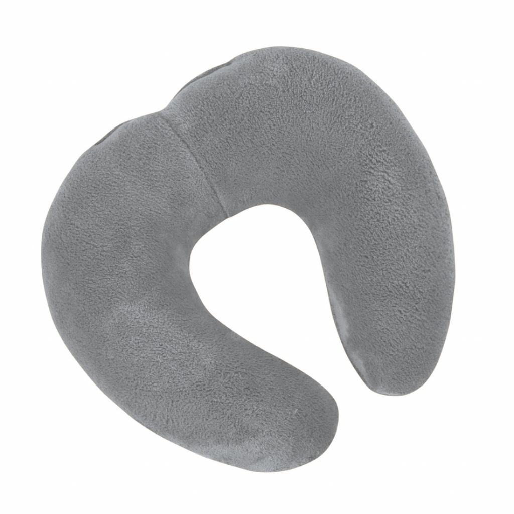 Produktové foto Bellatex Cestovní polštářek Korall micro šedá, 30 x 35 cm