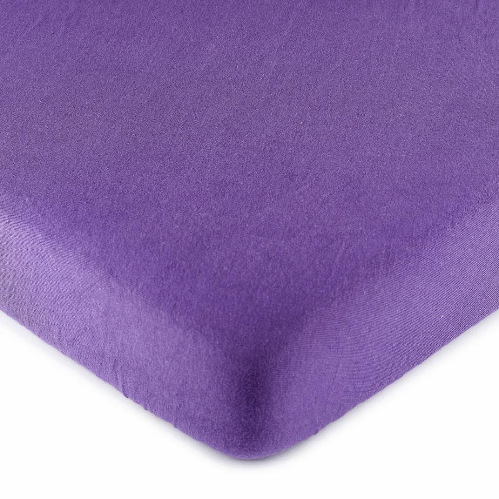 Produktové foto 4Home jersey prostěradlo fialová, 180 x 200 cm