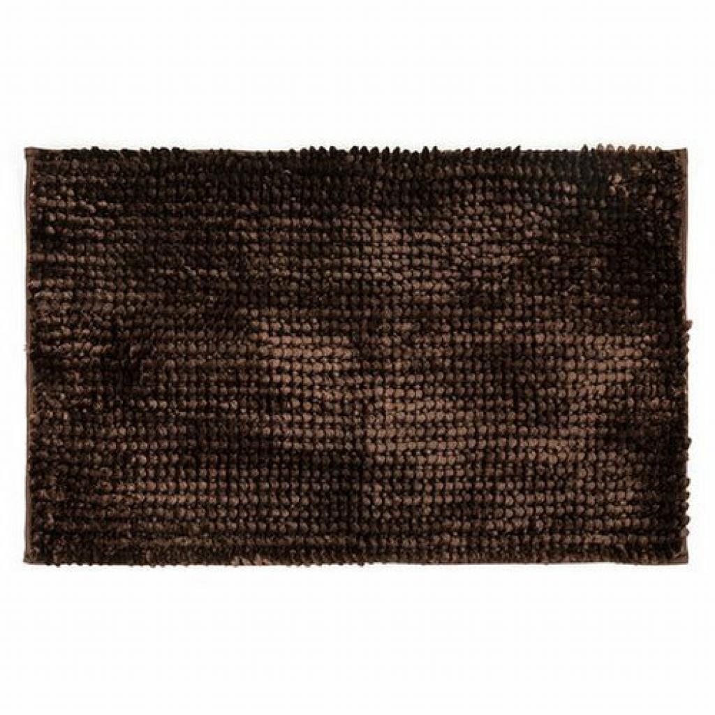 Produktové foto Bo-ma Koupelnová předložka Ella micro tmavě hnědá, 40 x 50 cm