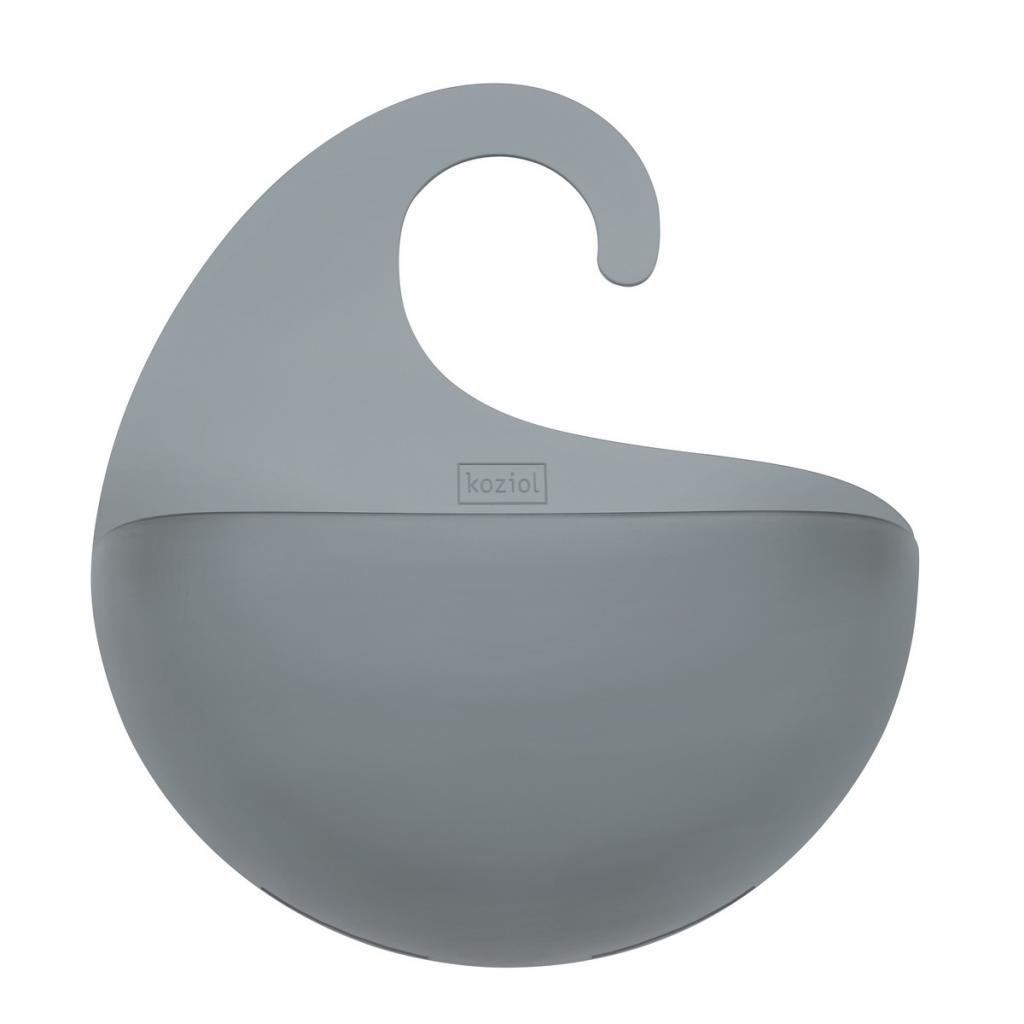 Produktové foto Koziol Koupelnový závěsný box Surf M antracitová, 6,5 x 21,6 x 25,3 cm