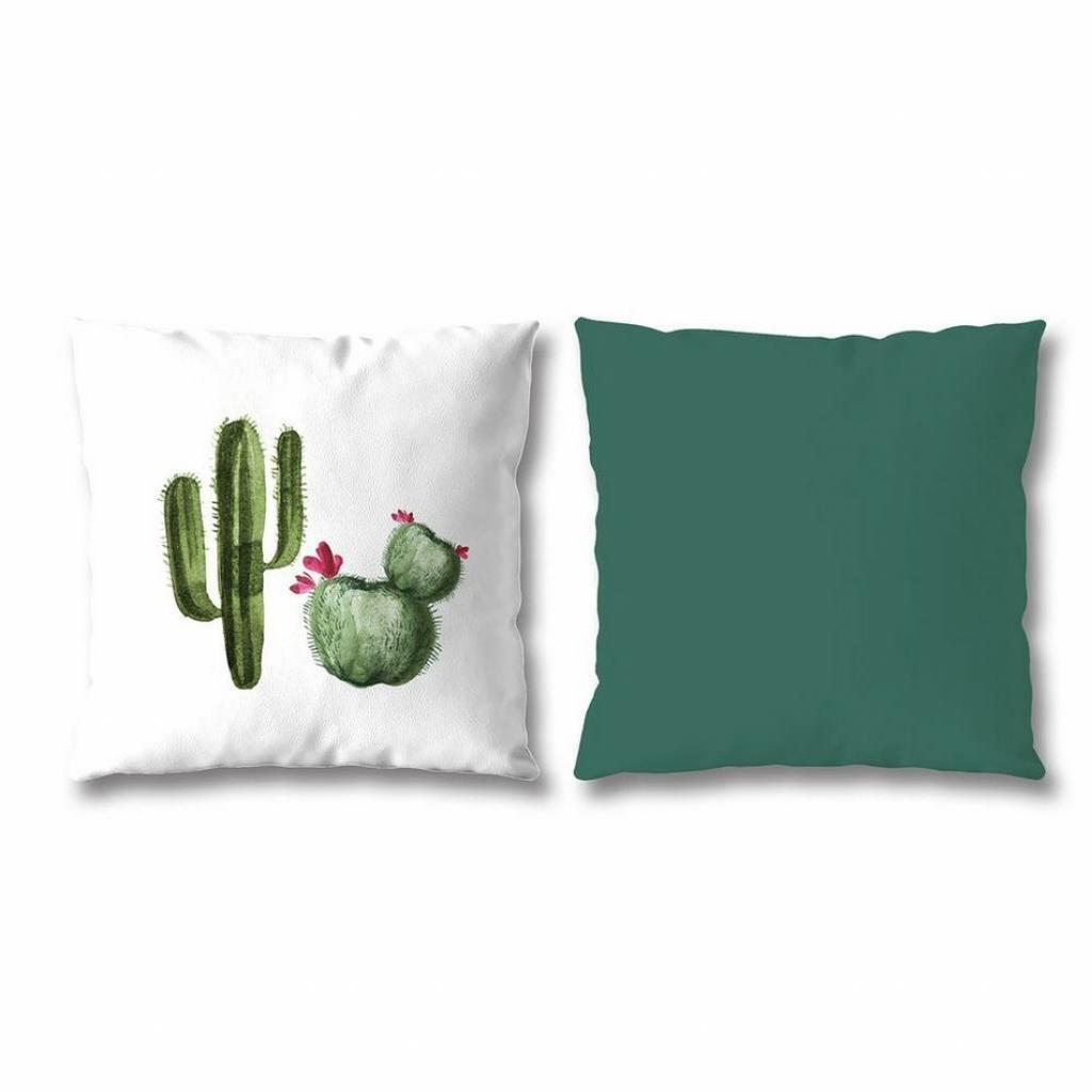 Produktové foto Povlak na polštářek Giardino Cactus, 40 x 40 cm, sada 2 ks