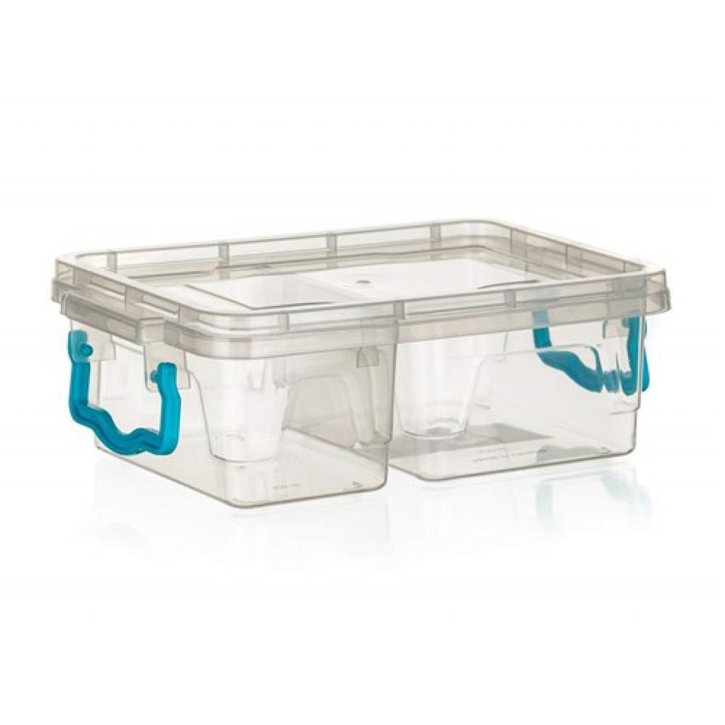 Produktové foto Banquet Box dělený GEMA 420 ml + 610 ml, tyrkysová