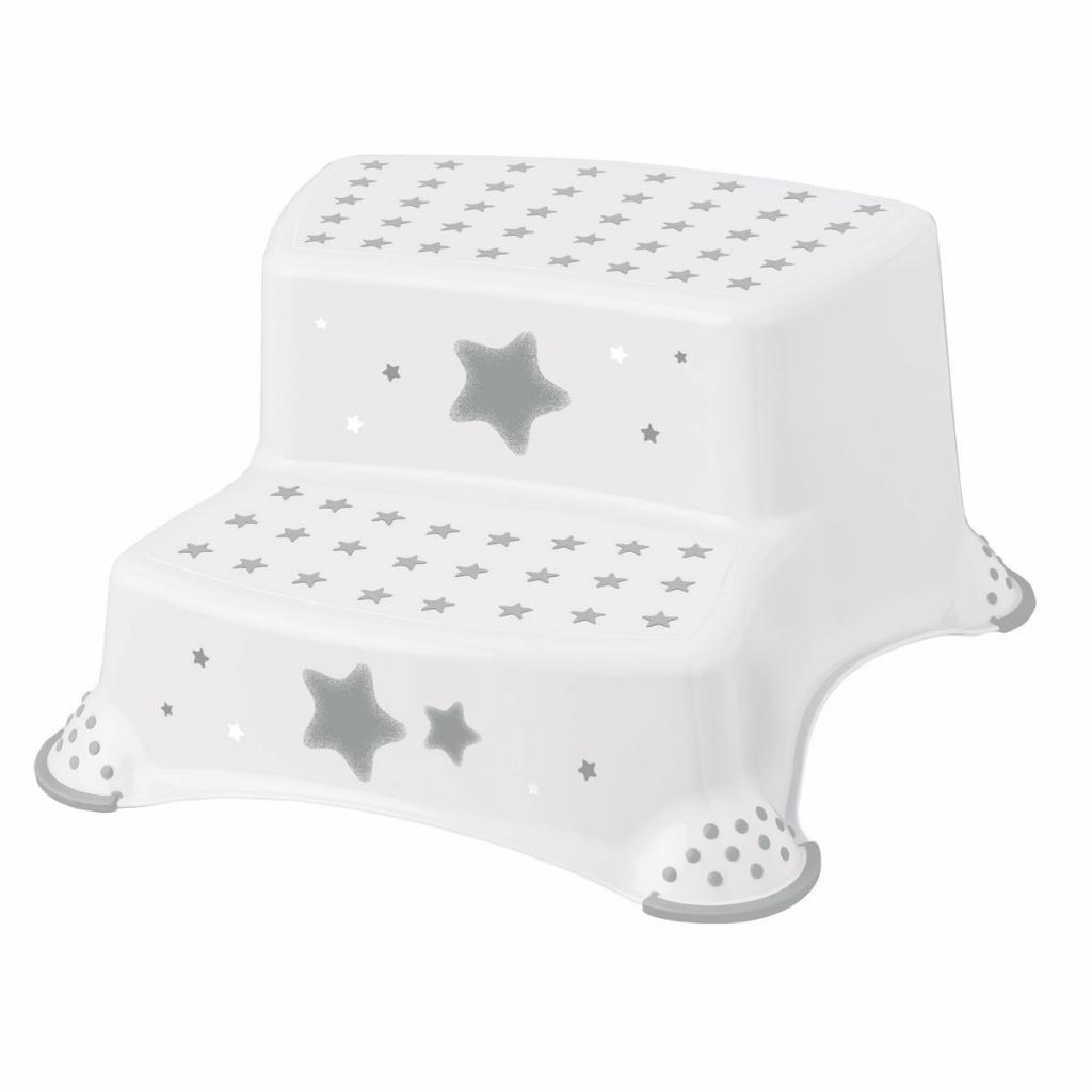 Produktové foto Keeeper Dětská stolička -Stars bílá, 40 x 37 x 21 cm