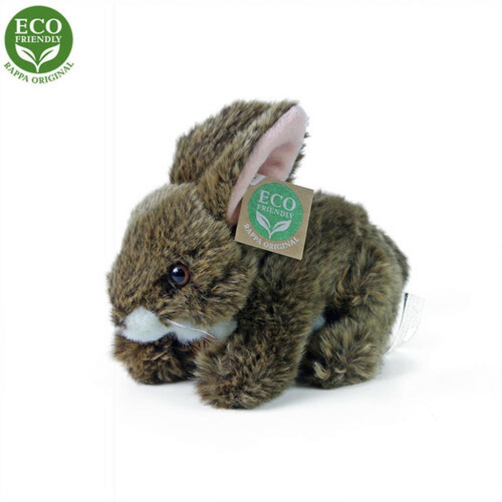 Produktové foto králík hnědý ležící ECO-FRIENDLY 17 cm
