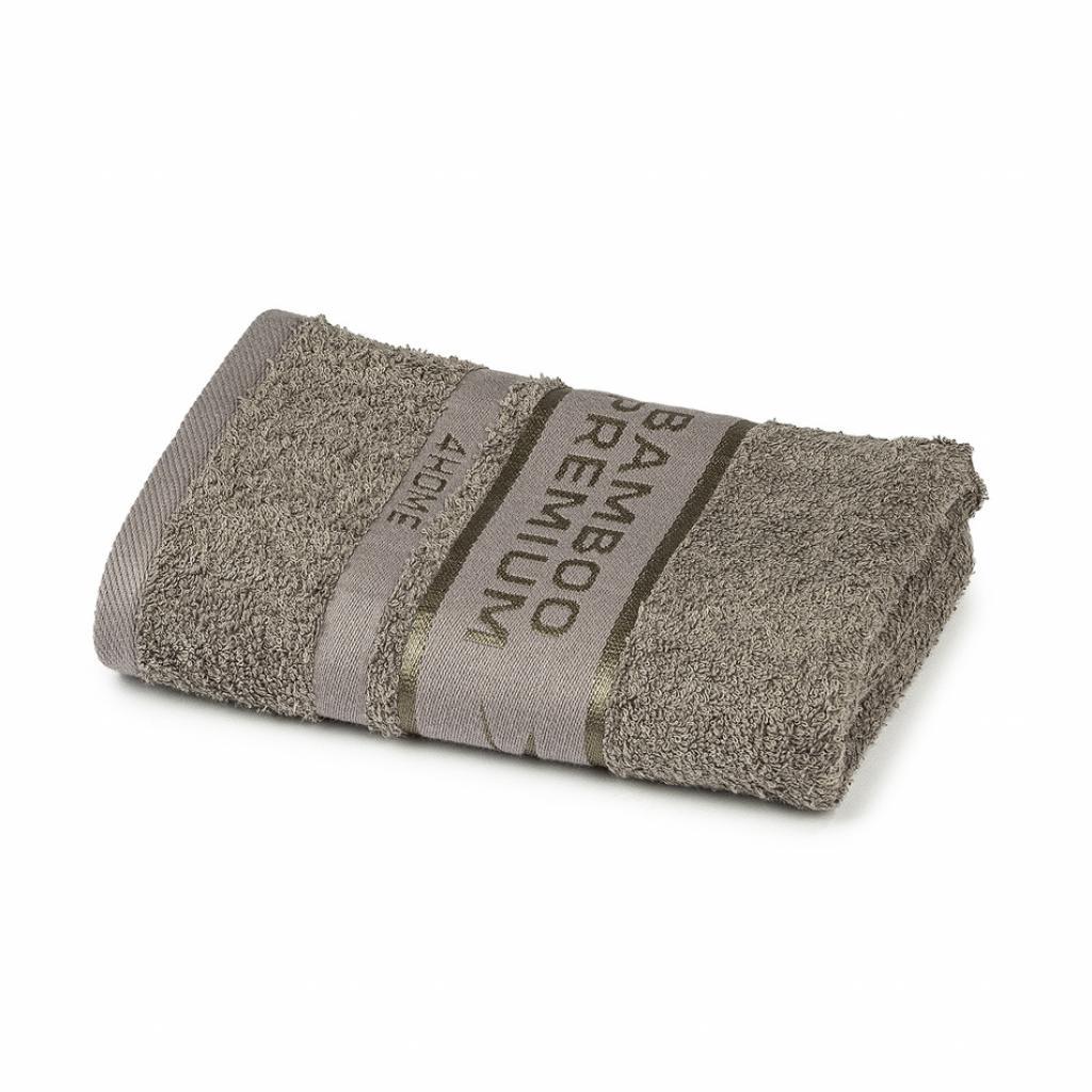 Produktové foto 4Home Ručník Bamboo Premium šedá