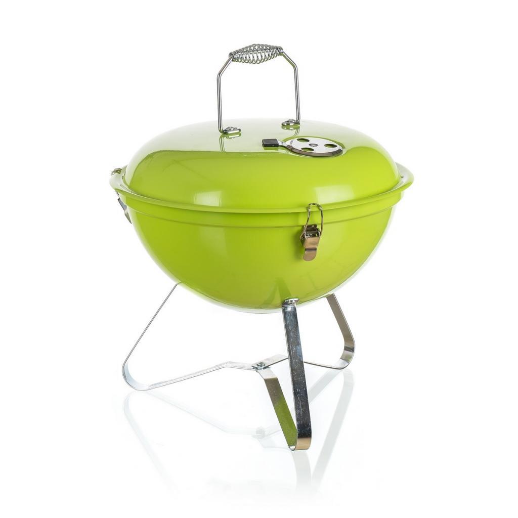 Produktové foto Happy Green PICNIC Zahradní gril zelená, pr. 36 cm