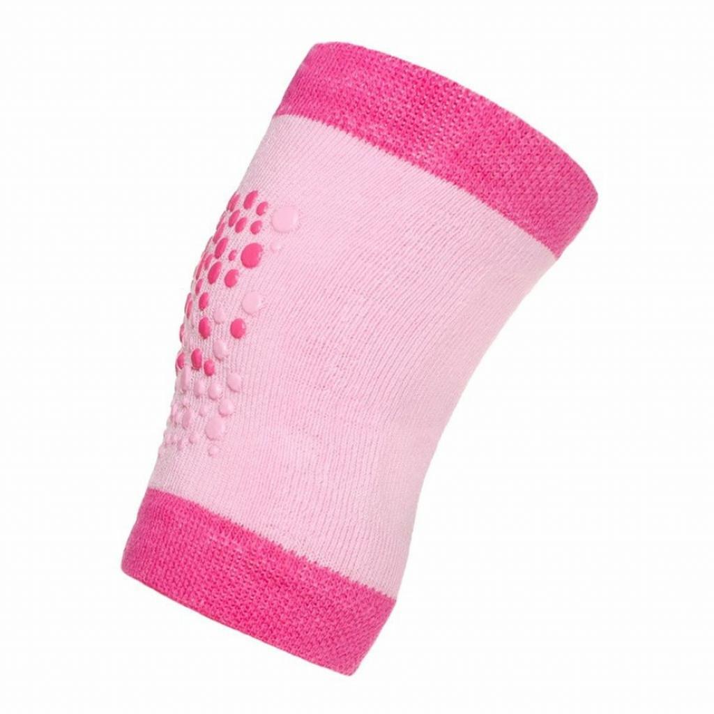 Produktové foto New Baby Dětské nákoleníky s ABS růžové