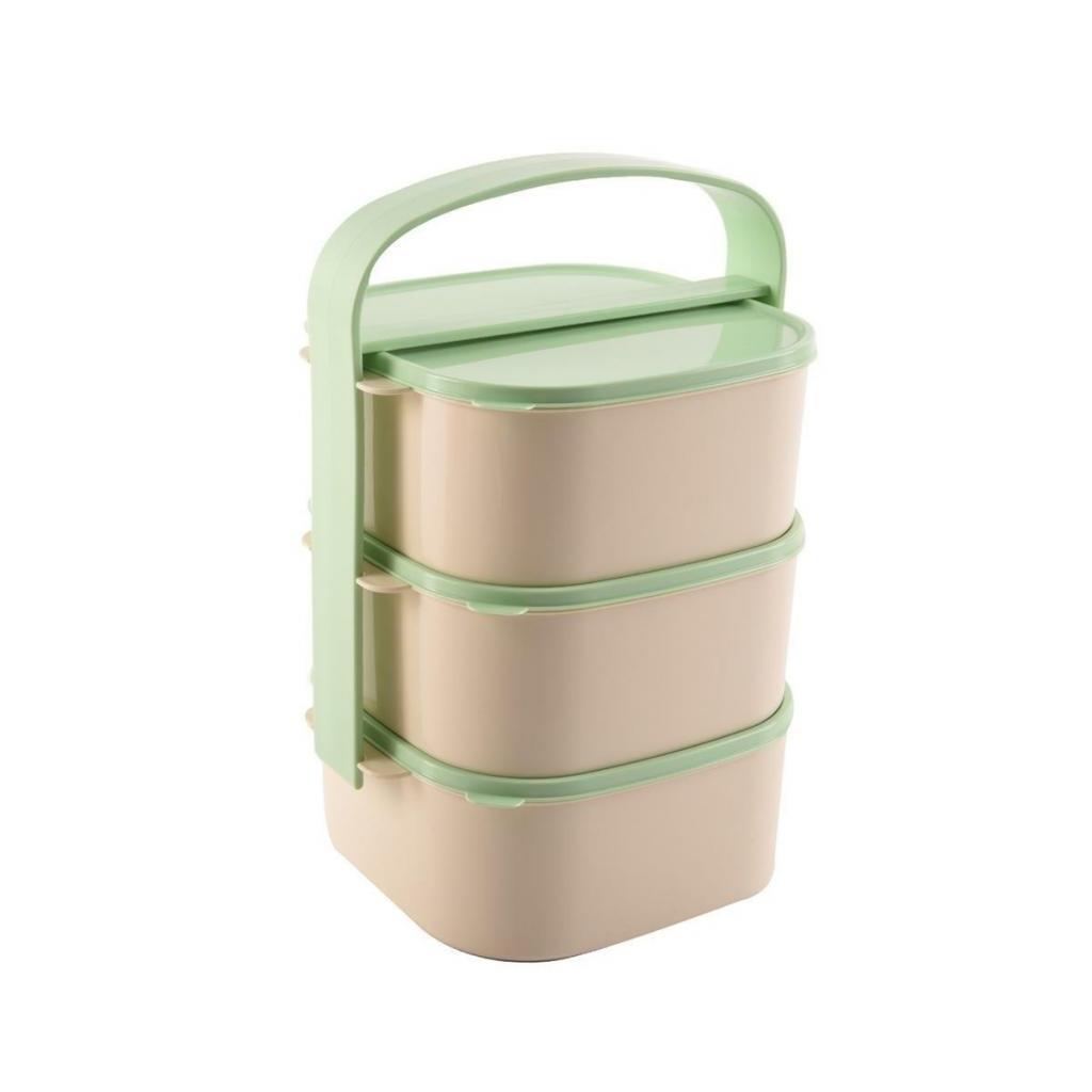 Produktové foto Orion Plastový jídlonosič Almi 3 x 1,15 l