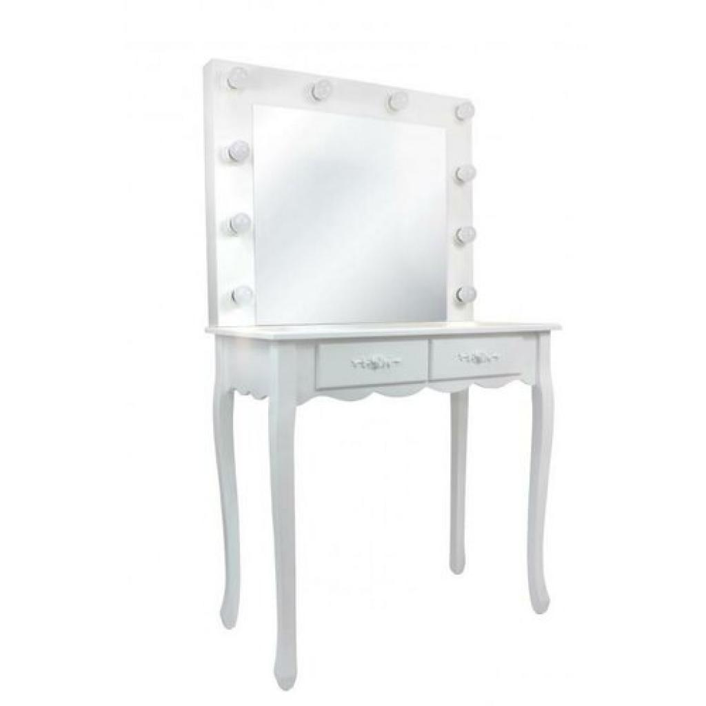 Produktové foto Toaletní kosmetický stolek Vintage 80x40x140cm se zrcadlem