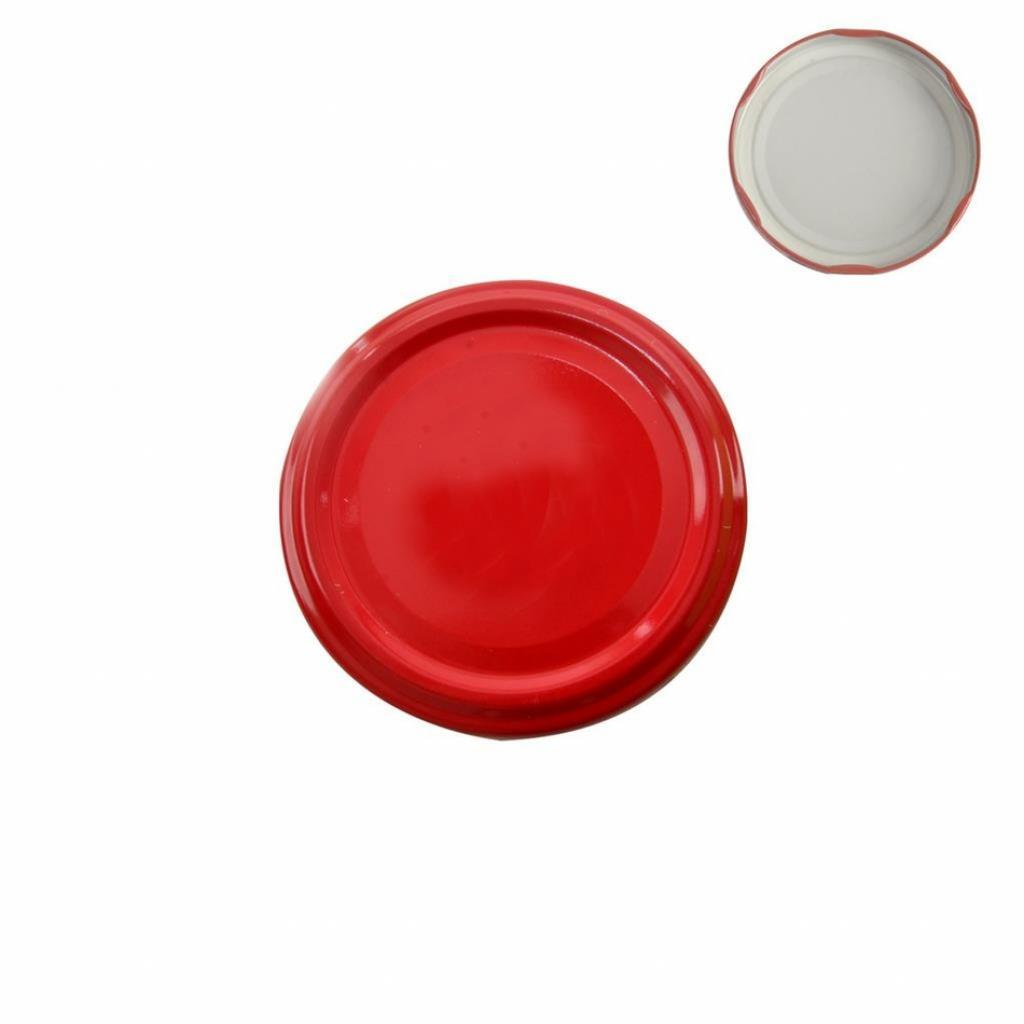 Produktové foto Orion Sada víček se závitem 10 ks, červená