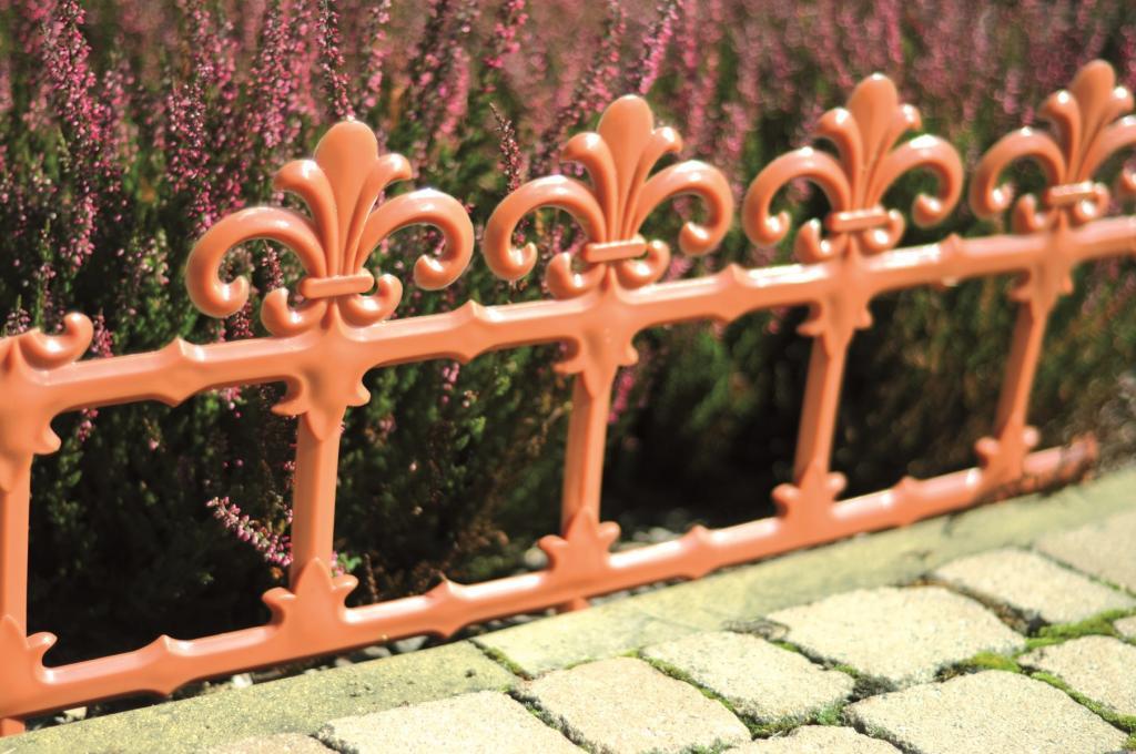 Produktové foto Zahradní plůtek Art 34 cm terakota