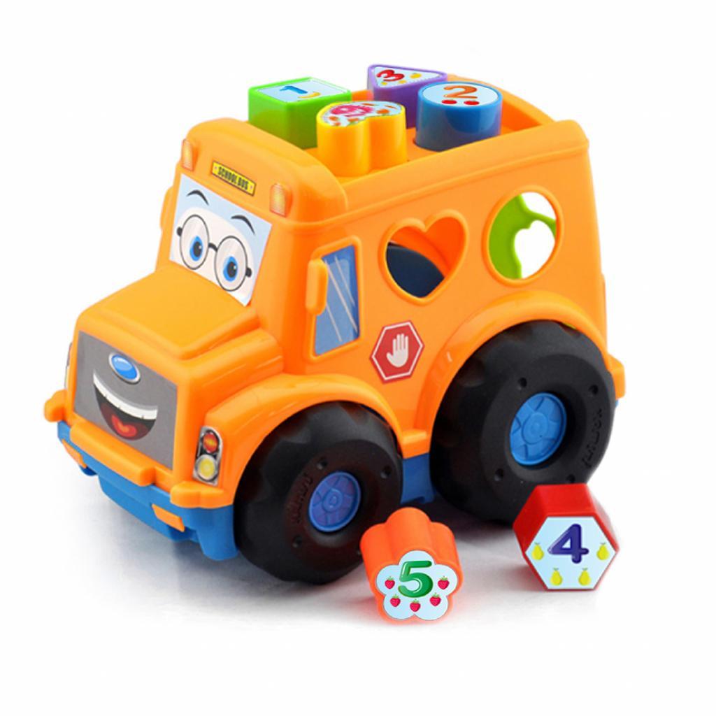 Produktové foto Baby Vkládačka pro nejmenší Autobus, 30 cm
