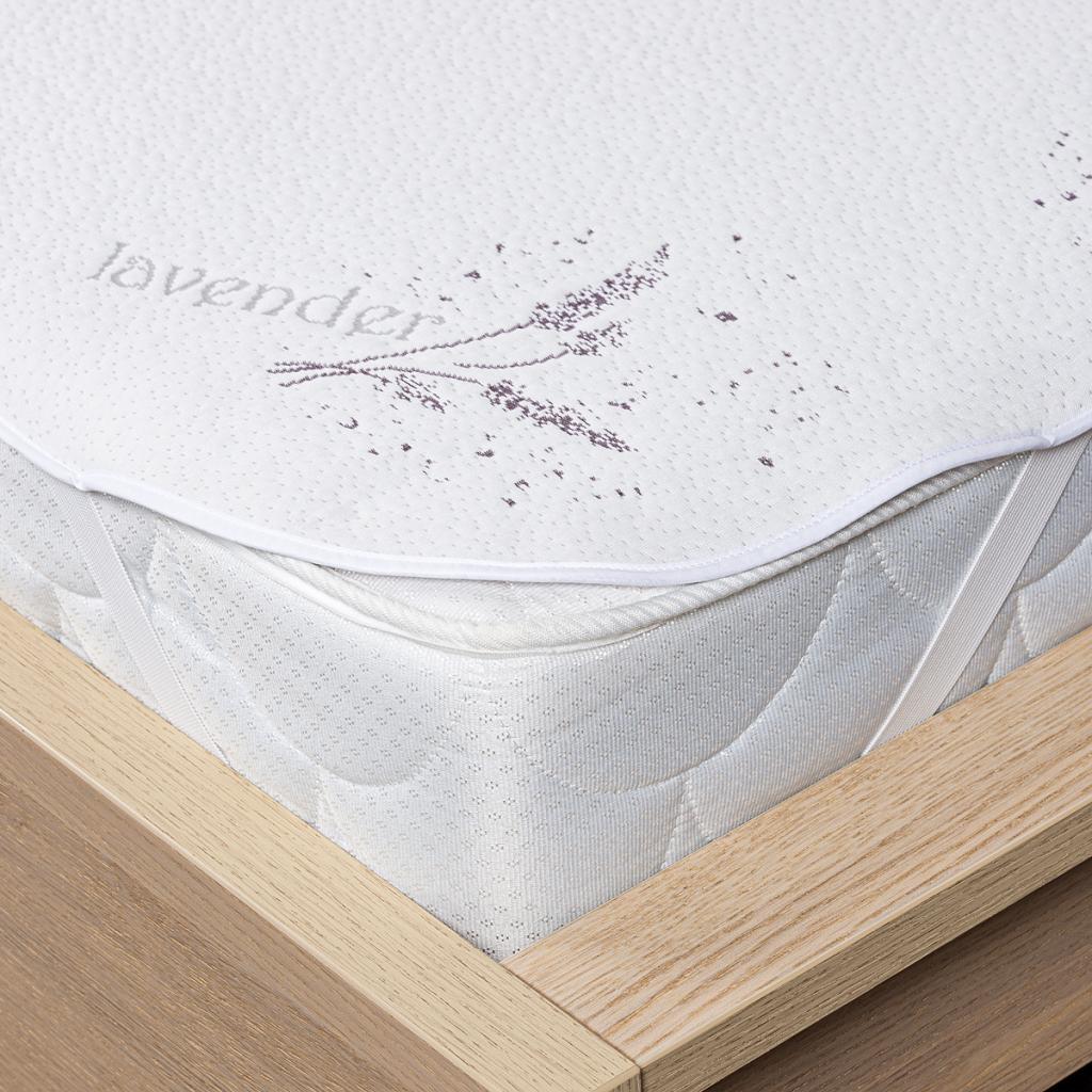 Produktové foto 4Home Lavender Chránič matrace s gumou, 200 x 200 cm