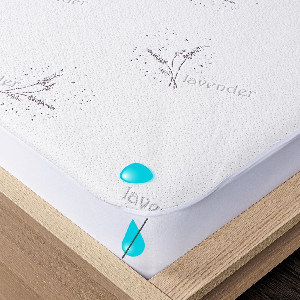 Produktové foto 4Home Lavender Nepropustný chránič matrace s lemem, 70 x 160 cm