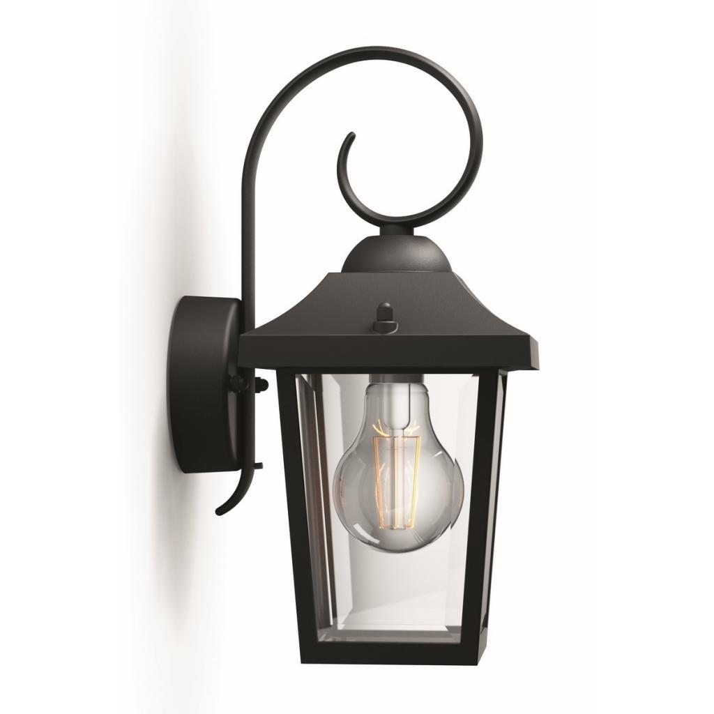 Produktové foto Philips 17236/30/PN Buzzard Venkovní nástěnné svítidlo 29 cm, černá