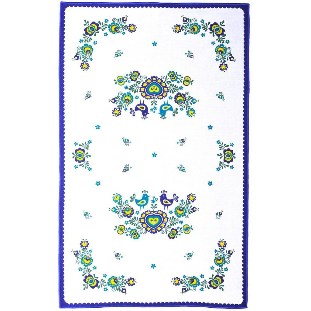 Produktové foto FORBYT Utěrka Folklor modrá, 45 x 70 cm
