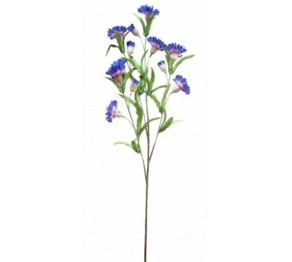 Produktové foto Umělé květy chrpa, modrá
