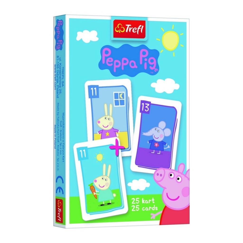 Produktové foto Trefl Černý Petr: Peppa Pig