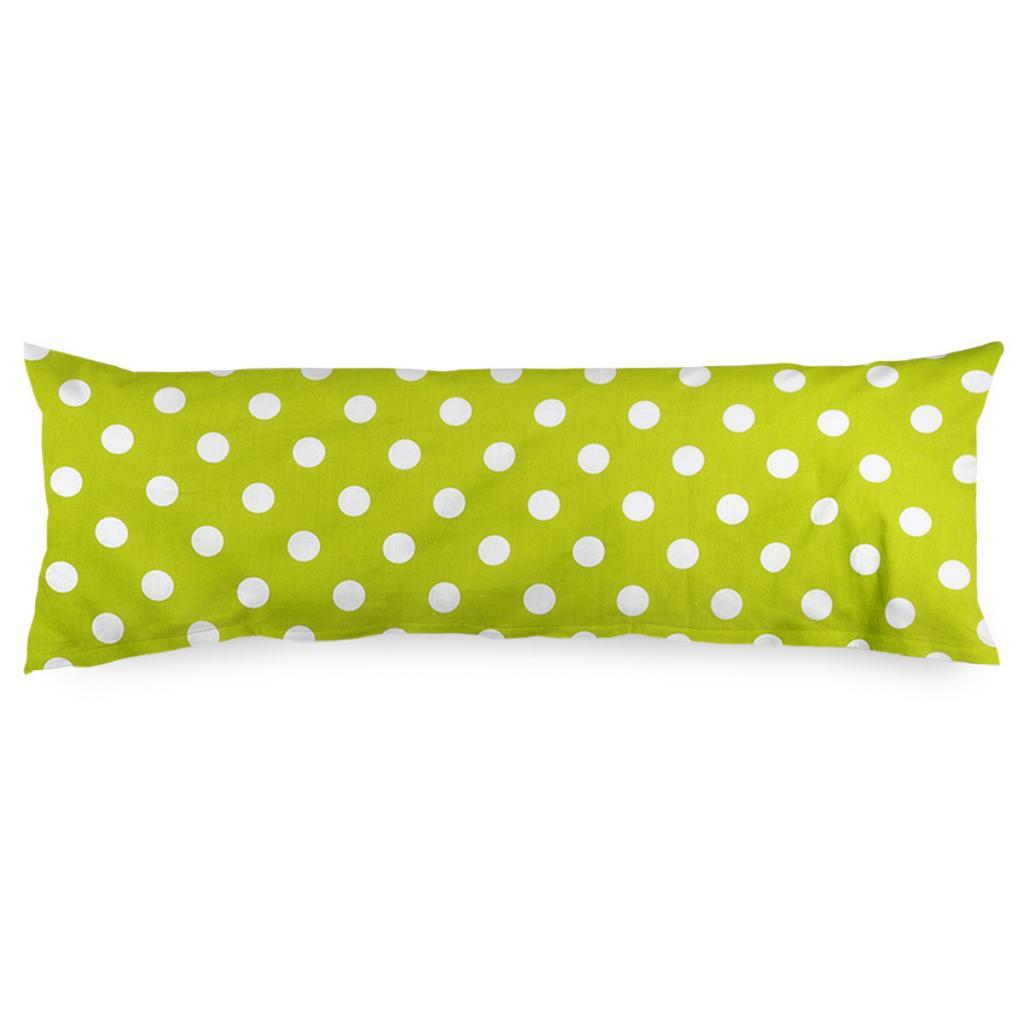 Produktové foto 4Home Povlak na Relaxační polštář Náhradní manžel Zelený puntík