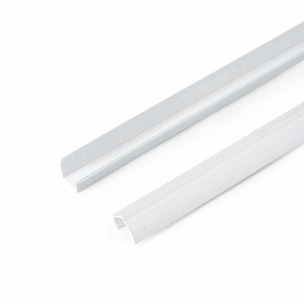 Produktové foto Gardinia Boční vodicí lišta pro Mini rolety bílá, 150 cm, sada 2 ks