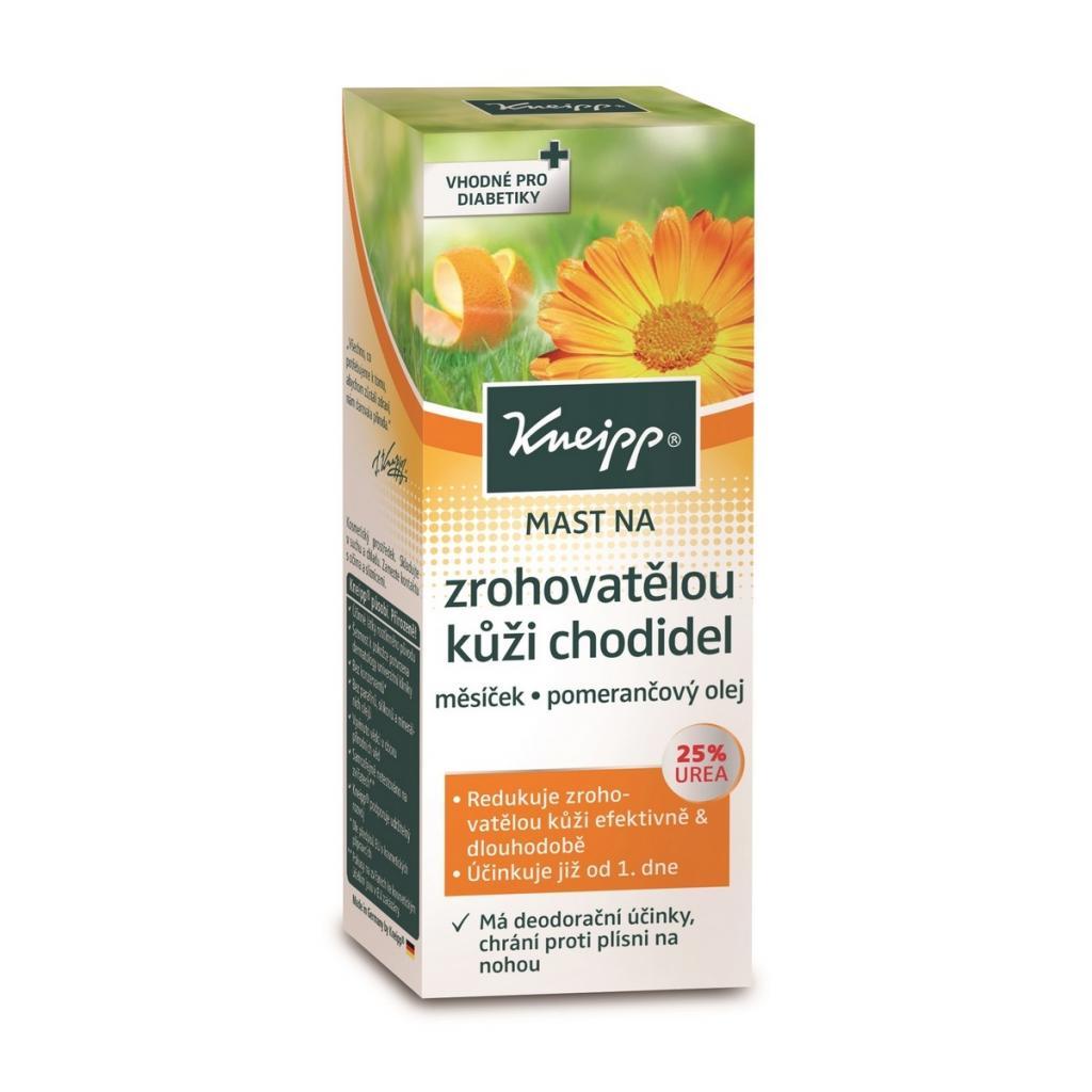 Produktové foto Kneipp mast na ztvrdlou kůži chodidel 50 ml