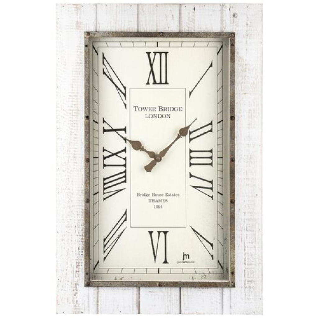 Produktové foto Lowell 21477 Designové nástěnné hodiny 60 x 40 cm