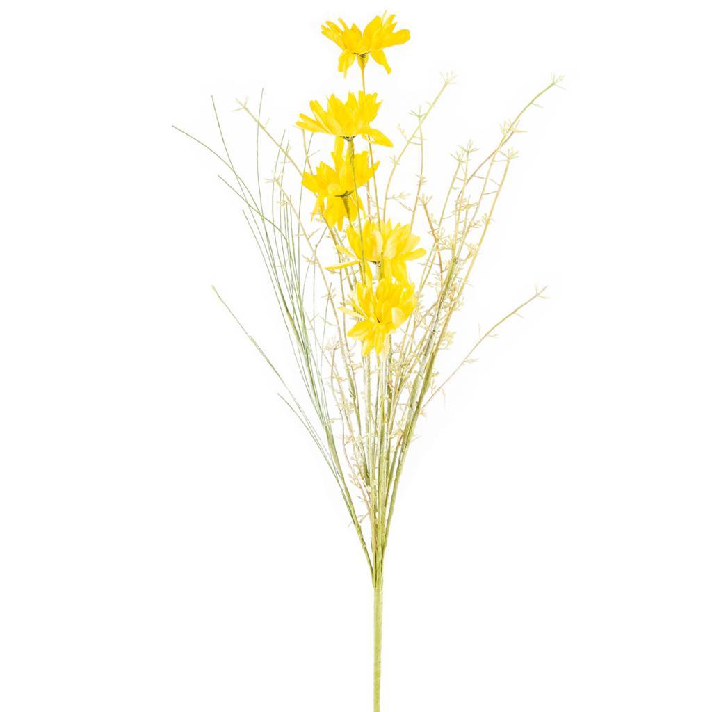 Produktové foto Umělé luční květy 50 cm, žlutá