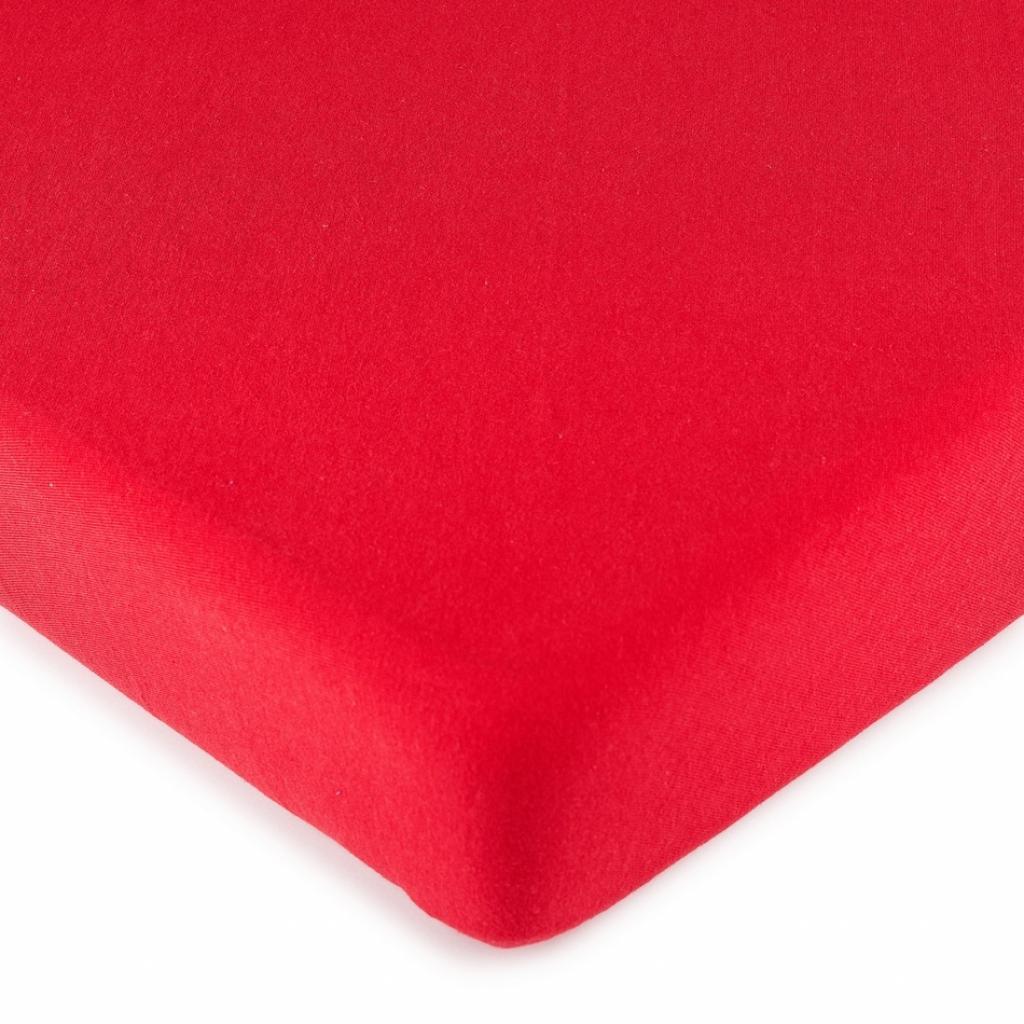 Produktové foto 4Home jersey prostěradlo červená, 90 x 200 cm