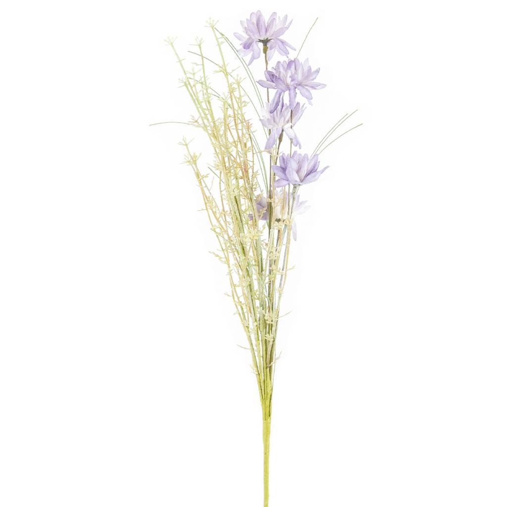 Produktové foto Umělé luční květy 50 cm, fialová