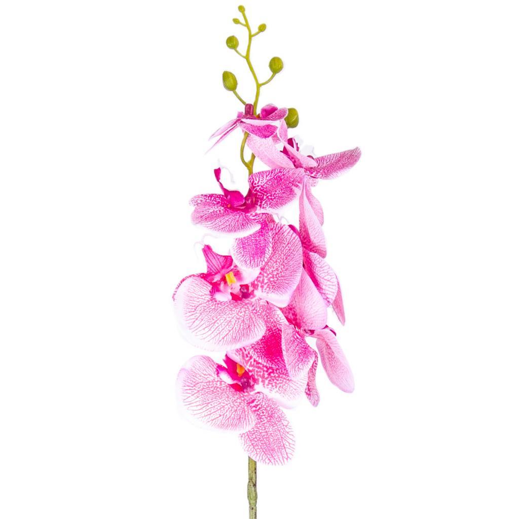 Produktové foto Umělá Orchidej tm. růžová, 86 cm