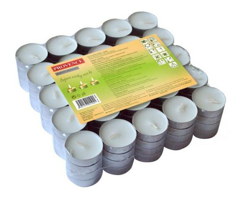 Produktové foto Provence Čajová svíčka 100 ks bílá