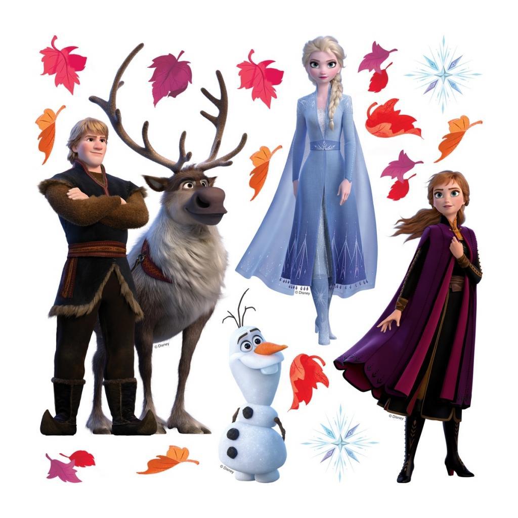 Produktové foto Samolepicí dekorace Frozen 2, 30 x 30 cm