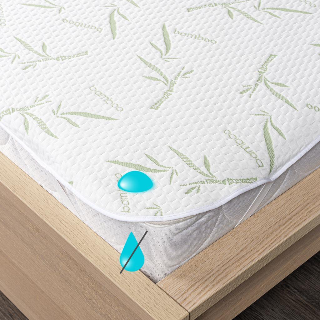Produktové foto 4Home Bamboo Nepropustný chránič matrace s gumou
