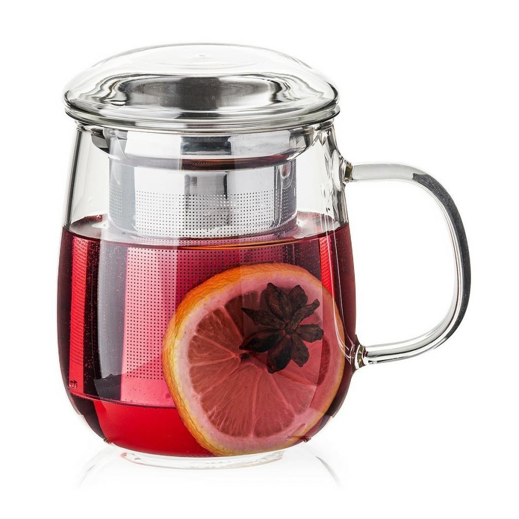 Produktové foto 4Home Hrnek na čaj se sítkem Hot&Cool 330 ml