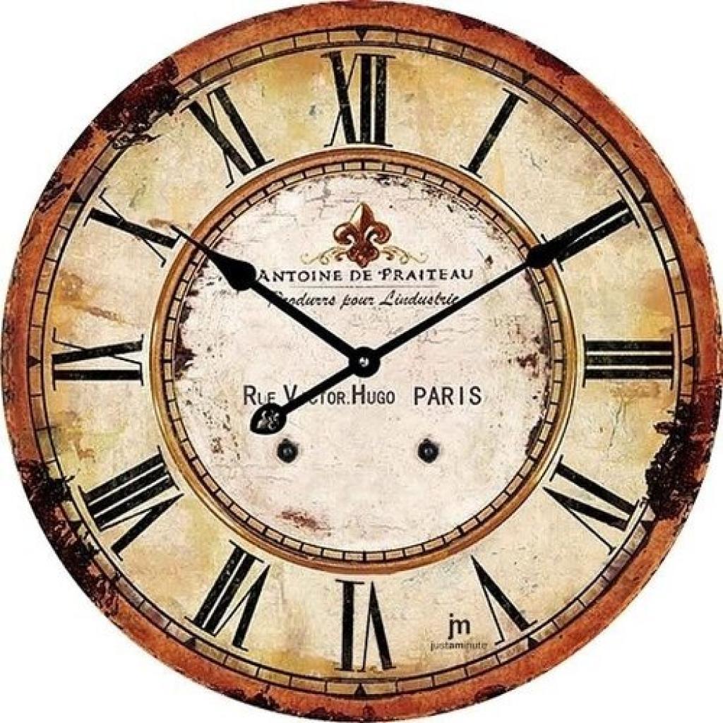 Produktové foto Lowell 14862 Designové nástěnné hodiny pr. 34 cm