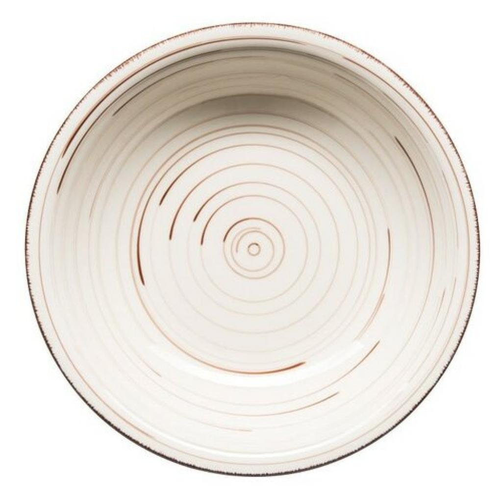Produktové foto Mäser Keramický hluboký talíř Bel Tempo 21,5 cm, béžová