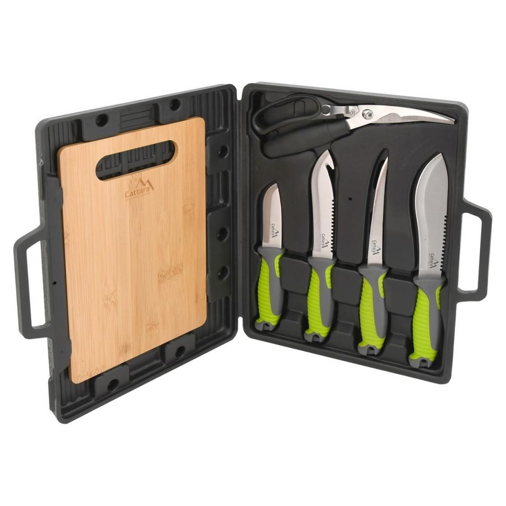 Produktové foto Cattara Grilovací nože sada 4+1+1