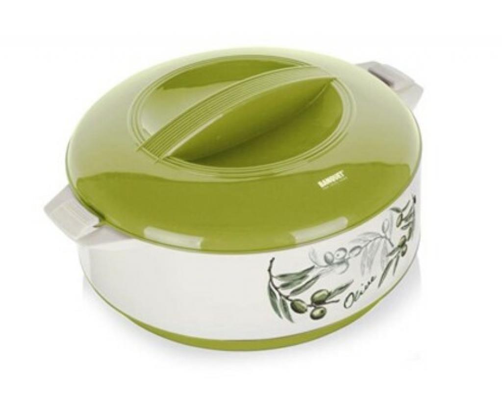 Produktové foto Banquet Termohrnec 1,5L Olives s poklicí