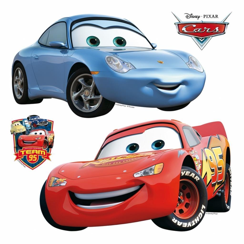 Produktové foto Samolepicí dekorace Cars, 30 x 30 cm